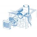 Aero 125H - koupelnový ventilátor s hydrostatem