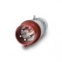 213.1637RV Vidlice 400V/16A pětipólová OPTIMA se změnou fáze