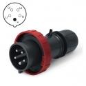 218.EX1637 Vidlice Ex II 2D 400V/16A pětipólová OPTIMA-EX