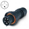 218.EX6336 Vidlice Ex II 2D 400V/63A čtyřpólová OPTIMA-EX