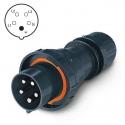 218.EX6337 Vidlice Ex II 2D 400V/63A pětipólová OPTIMA-EX
