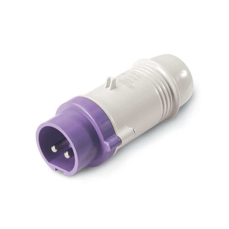 230.1600 Vidlice SCAME 24V/16A dvoupólová IEC309