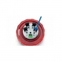 313.3246F Zásuvka 400V/32A čtyřpólová kabelová OPTIMA bezšroubová