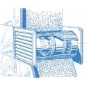 Tubo 100T - axiální potrubní ventilátor s časovačem