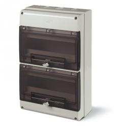 672.4024 - rozvaděčová skříň na zeď DOMINO IP66 - 24 DIN