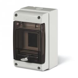 672.2004 - rozvaděčová skříň na zeď DOMINO IP66 - 4 DIN (bez svorkovnic)