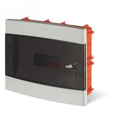 675.2012B - rozvaděč do zdi DOMINO IP40 - 12 modulů, průhledná dvířka
