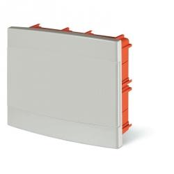 675.2012.2 - rozvaděč do zdi DOMINO IP40 - 12 modulů, bílá dvířka