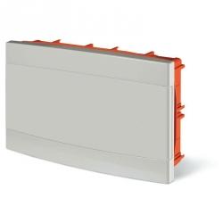675.2018.2 - rozvaděč do zdi DOMINO IP40 - 18 modulů, bílá dvířka