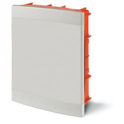 675.4024.2 - rozvaděč do zdi DOMINO IP40 - 24 modulů, bílá dvířka