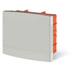 675.2008.2 - rozvaděč do zdi DOMINO IP40 - 8 modulů, bílá dvířka