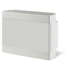 673.2012.2 - rozvaděč na zeď DOMINO IP40 - 12 modulů, bílá dvířka