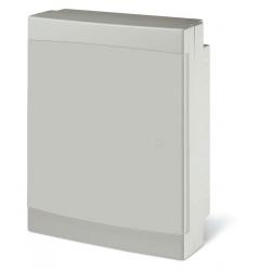 673.4024.2 - rozvaděč na zeď DOMINO IP40 - 24 modulů, bílá dvířka