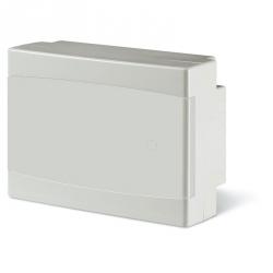 673.2008.2 - rozvaděč na zeď DOMINO IP40 - 8 modulů, bílá dvířka