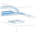 Quatro 125H - moderní koupelnový ventilátor s hydrostatem